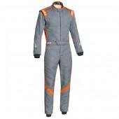 Combinaison Sparco Victory RS-7 - Grise & Orange (FIA)