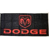 Drapeau Dodge (70x150cm)