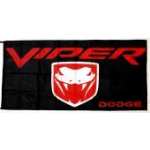 Drapeau Dodge Viper (70x150cm)