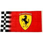 Drapeau Ferrari (Logo seul) (70x150cm)