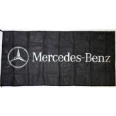 Drapeau Mercedes (70x145cm)