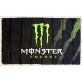 Drapeau Monster Energy