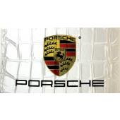 Drapeau Porsche Blanc (90x155cm)