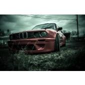 Ailes Avant Rocket Bunny pour BMW E30