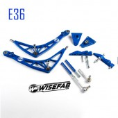 "Kit Grand Angle Wisefab ""FD Legal"" pour BMW E36"