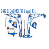 "Kit Grand Angle Wisefab ""FD Legal"" pour BMW E46"