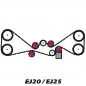 Kit de Distribution pour Moteur Subaru EJ20 / EJ25