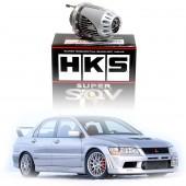 Kit Spécifique Dump Valve HKS Super SQV IV pour Mitsubishi Lancer Evo 7 (VII)