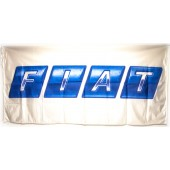 Drapeau Fiat Blanc (150 x 75 cm)
