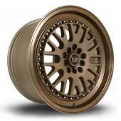 """Rota Flush 17x9"""" 5x100/114.3 ET25, Bronze"""