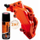 Spray Peinture Foliatec Orange pour Etriers de Frein