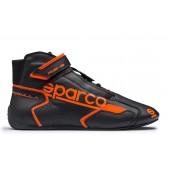 Bottines Sparco Formula RB-8.1 - Noires & Orange (FIA)
