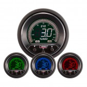 Manomètre de Pression de Turbo ProSport Evo (Digital, 4 Couleurs)