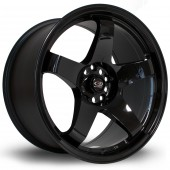 "Rota GTR 18x9.5"" 5x114.3 ET30, Noir / Brillant"