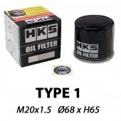 Filtre à Huile HKS Type 1 | M20x1.5 (Nissan SR20, 350Z, 370Z, GT-R, Honda B16, B18, K20, Mazda MX-5, RX-7, RX-8, Mitsu Evo, GT86, BRZ, Subaru Impreza...)