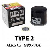 "Filtre à Huile HKS Type 2 ""High Capacity"" | M20x1.5"