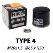 Filtre à Huile HKS Type 4 | M20x1.5 (Kei Cars Nissan, Mitsubishi...)