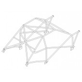 Arceau Custom Cages Multipoints T45 pour Peugeot 205