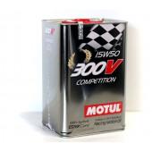 Huile Motul 300V Competition 15W50 (5L)