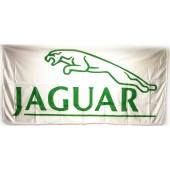 Drapeau Jaguar Blanc (150 x 75 cm)