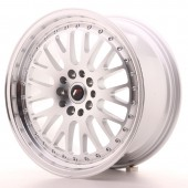 "Japan Racing JR-10 18x8.5"" 5x112/114.3 ET45, Gris Argenté"