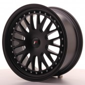"Japan Racing JR-10 18x8.5"" (4 & 5 trous - sur mesure) ET40-45, Noir Mat / Satiné"