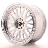 "Japan Racing JR-10 18x9.5"" 5x112/114.3 ET40, Gris Argenté"
