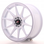 "Japan Racing JR-11 17x8.25"" 4x100/108 ET25, Blanc"