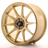 "Japan Racing JR-11 17x8.25"" 4x100/114.3 ET35, Or / Doré"