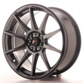 "Japan Racing JR-11 18x8.5"" 4x108/114.3 ET30, Hyper Black"