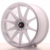 "Japan Racing JR-11 18x8.5"" 5x100/108 ET35, Blanc"