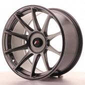 """Japan Racing JR-11 Extreme Concave 18x9.5"""" (4 & 5 trous - sur mesure) ET20-30, Hyper Black"""