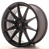 "Japan Racing JR-11 19x8.5"" (5 trous - sur mesure) ET35-40, Noir Mat / Satiné"