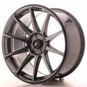 "Japan Racing JR-11 Extreme Concave 19x9.5"" (5 trous - sur mesure) ET35, Hyper Black"
