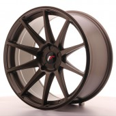 "Japan Racing JR-11 Extreme Concave 20x10"" (5 trous - sur mesure) ET20, Bronze"