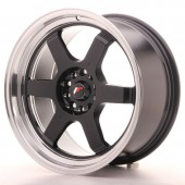 "Japan Racing JR-12 18x9"" 5x114.3/120 ET25, Noir / Brillant"