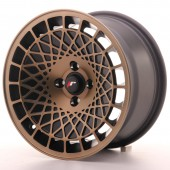 "Japan Racing JR-14 15x8"" (4 & 5 trous - sur mesure) ET20, Bronze"