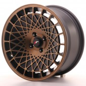 "Japan Racing JR-14 16x8"" (4 & 5 trous - sur mesure) ET25, Bronze"