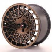 "Japan Racing JR-14 16x9"" (4 & 5 trous - sur mesure) ET25, Bronze"