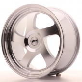 "Japan Racing JR-15 18x8.5"" (4 & 5 trous - sur mesure) ET20-40, Gris Argenté Poli"