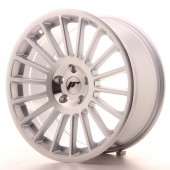 "Japan Racing JR-16 18x8.5"" (4 & 5 trous - sur mesure) ET40, Gris Argenté / Poli"