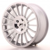 "Japan Racing JR-16 19x8.5"" (5 trous - sur mesure) ET40, Gris Argenté / Poli"