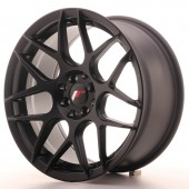 "Japan Racing JR-18 17x8"" 4x100/114.3 ET35, Noir Mat / Satiné"