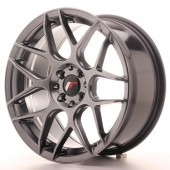 "Japan Racing JR-18 17x8"" 4x100/114.3 ET35, Hyper Black"