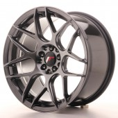 "Japan Racing JR-18 17x9"" 4x100/114.3 ET20, Hyper Black"