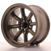 "Japan Racing JR-19 15x9"" 4x100/114.3 ET-13, Bronze"