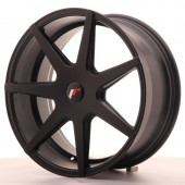 "Japan Racing JR-20 19x8.5"" (4 & 5 trous - sur mesure) ET20, Noir Mat / Satiné"