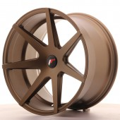 "Japan Racing JR-20 Extreme Concave 20x11"" (5 trous - sur mesure) ET35, Bronze"