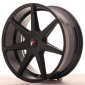 "Japan Racing JR-20 20x8.5"" (5 trous - sur mesure) ET25, Noir Mat / Satiné"