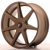 "Japan Racing JR-20 20x8.5"" (5 trous - sur mesure) ET40, Bronze"
